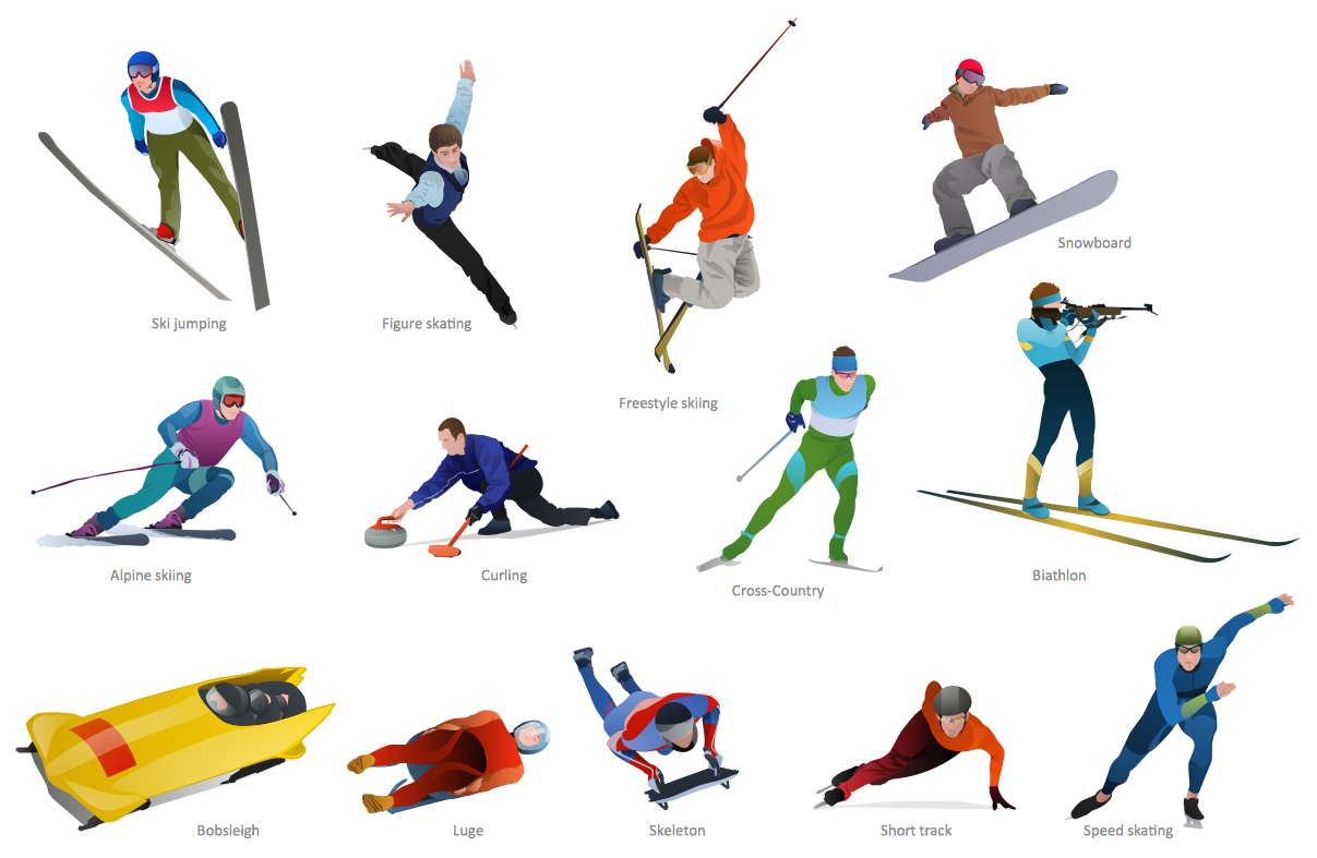 Free sports download clip. Winter clipart sport