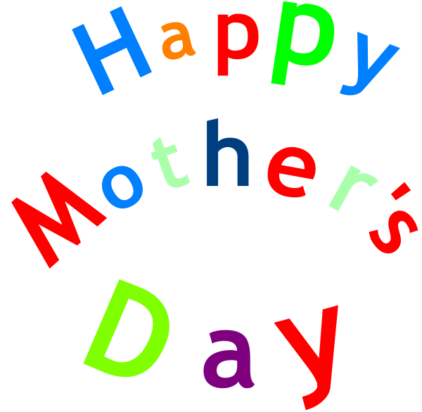 Happy free download best. Words clipart mothers day