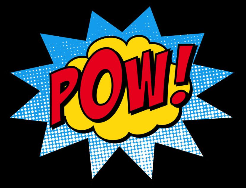 Words clipartion com super. Free clipart superhero