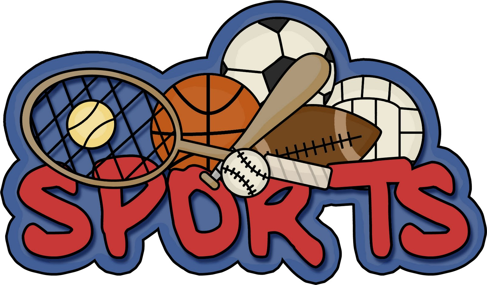 Words clipart sport. Free word cliparts download