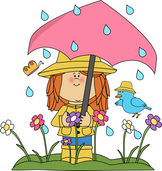 Clip art images showers. Clipart spring