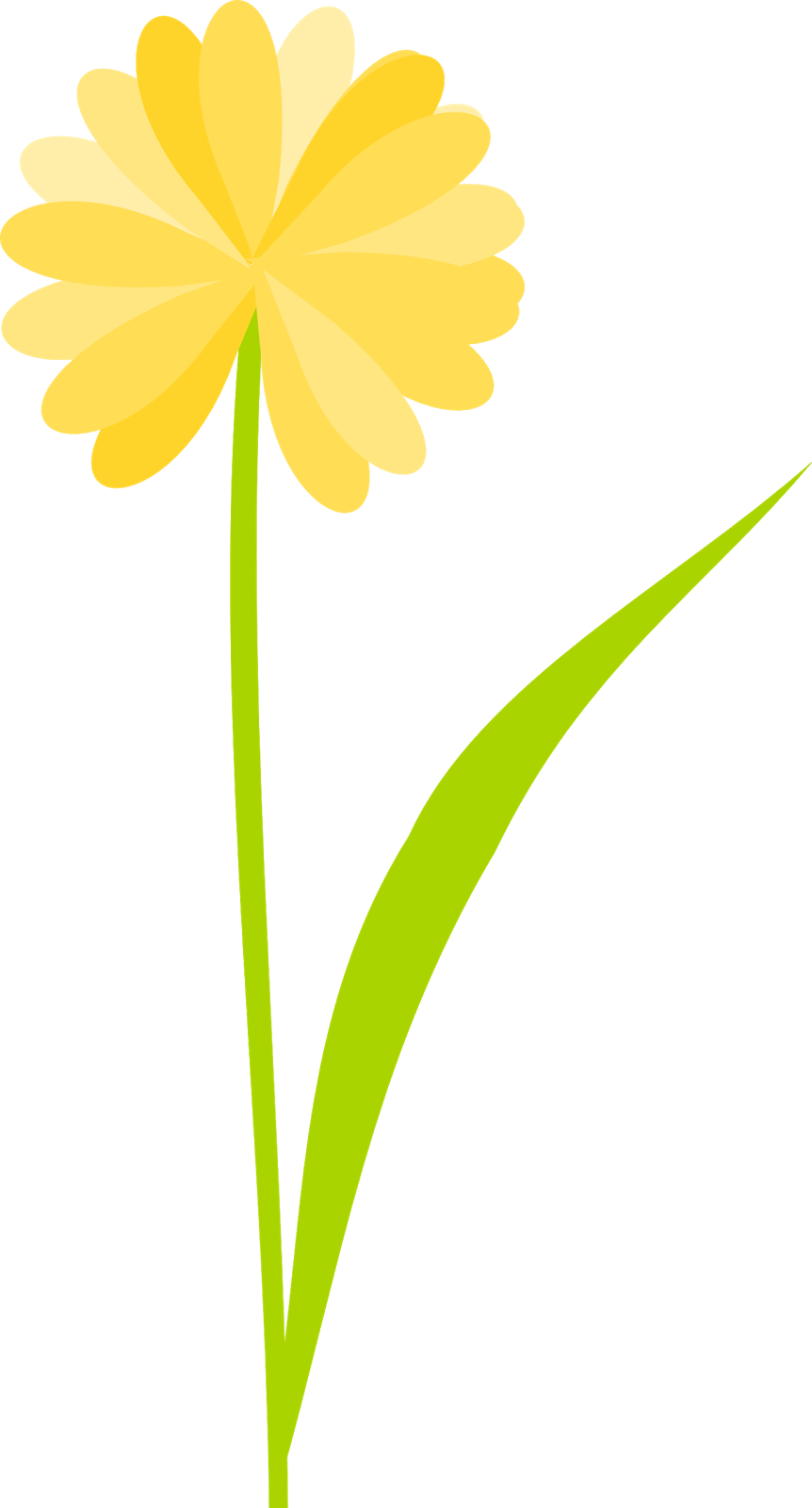 Transparent background pencil and. Daffodil clipart animated