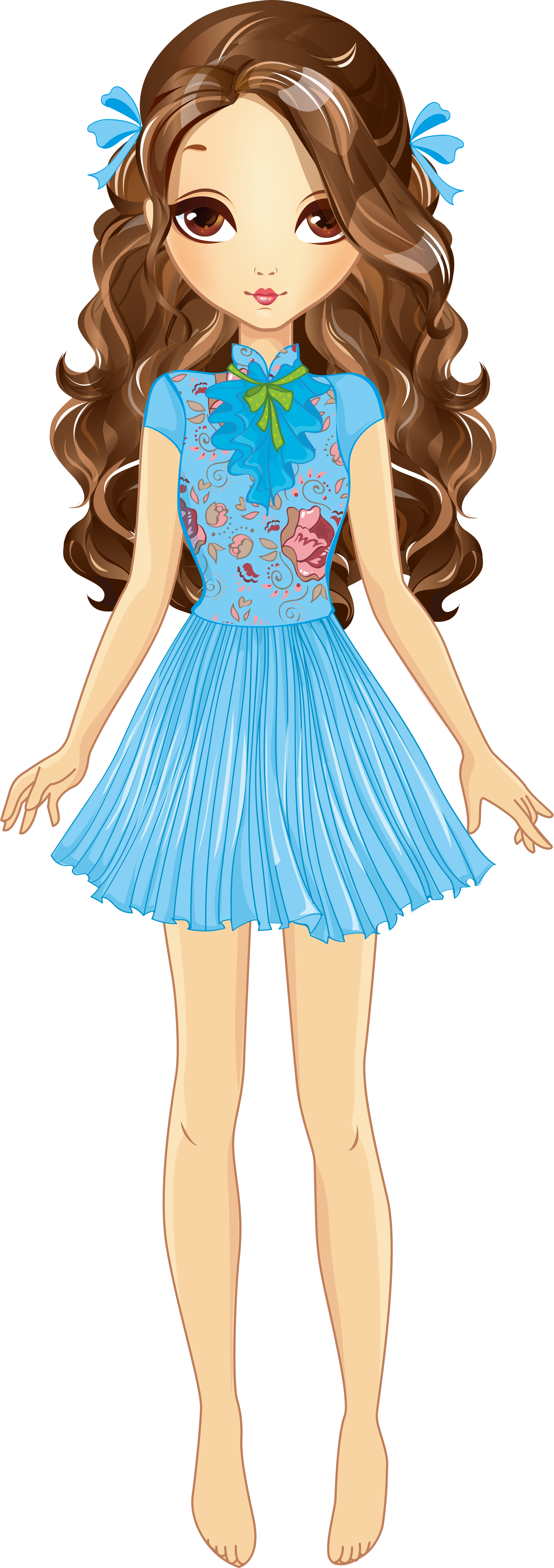 Png transparent clip art. Shy clipart girl doll