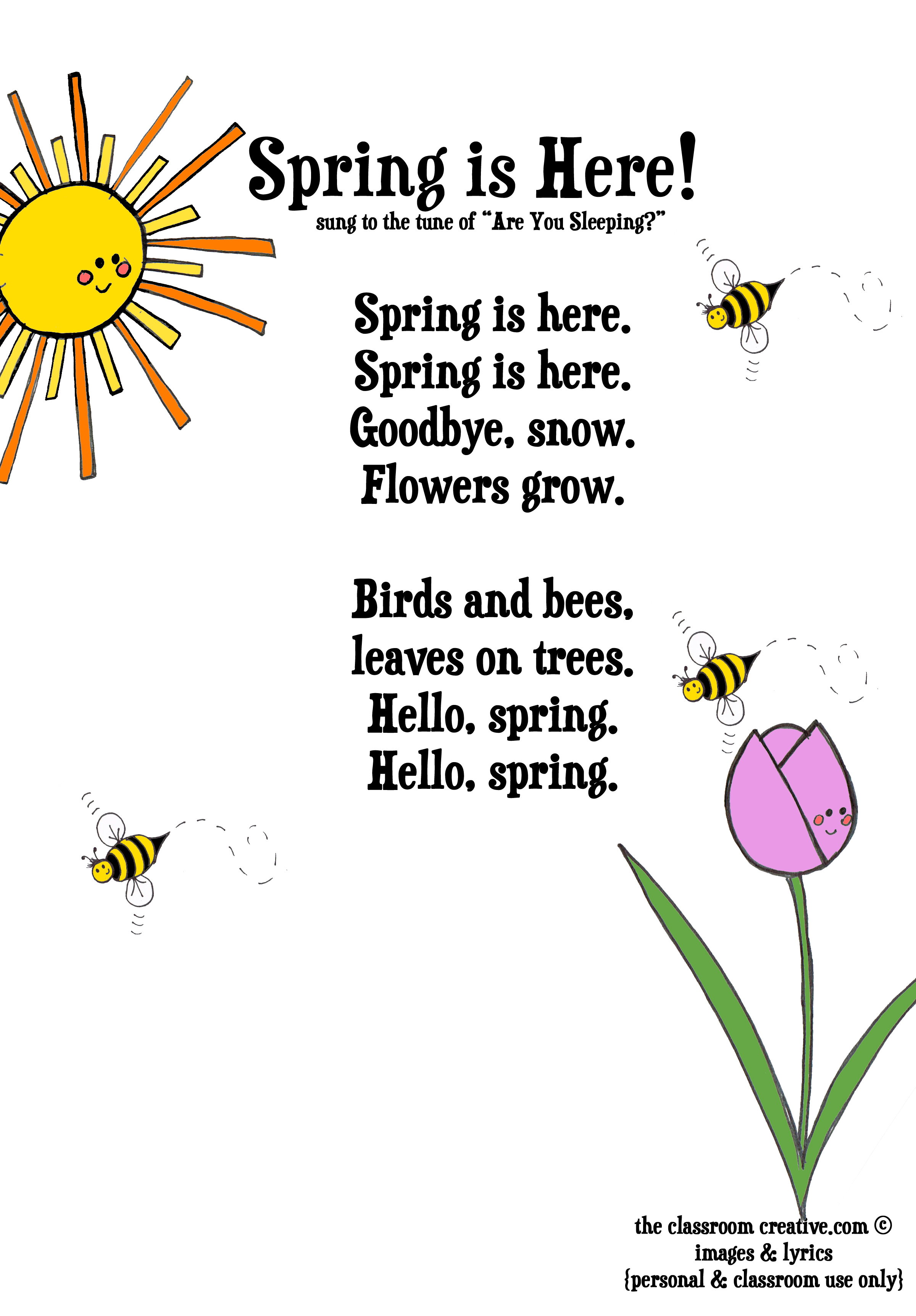 Poem clipart spring. Free funny cliparts download