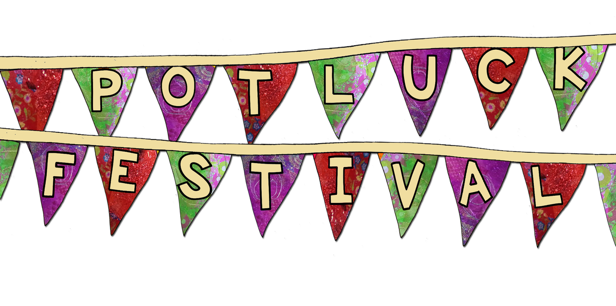 Operation farm presents festival. July clipart potluck