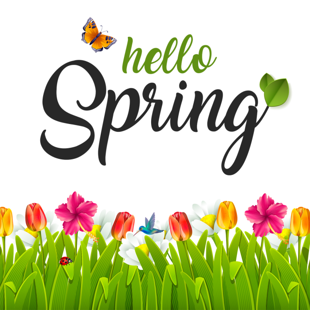 Beautiful hello green png. Win clipart spring