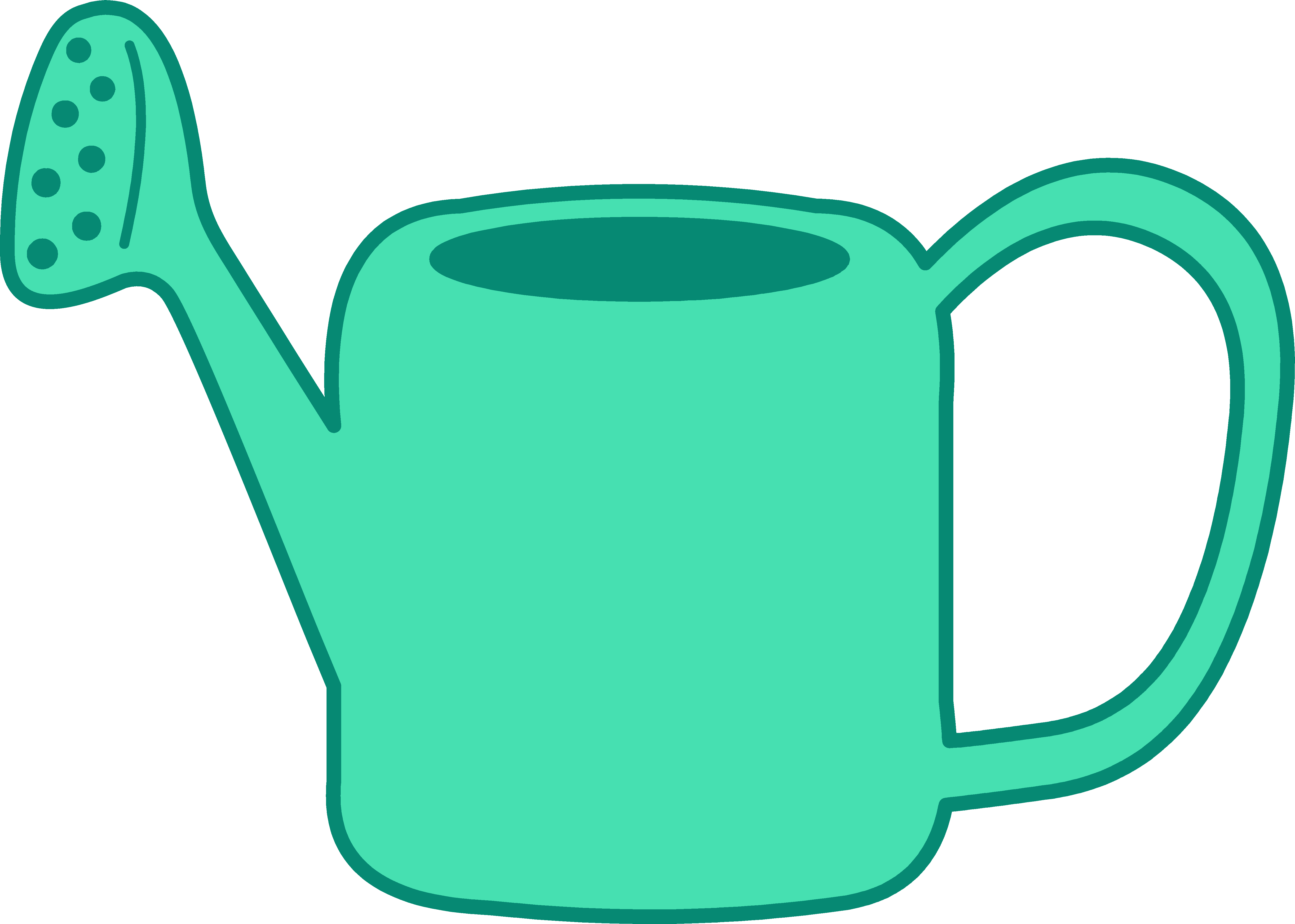 Water free download clip. Clipart spring watering can