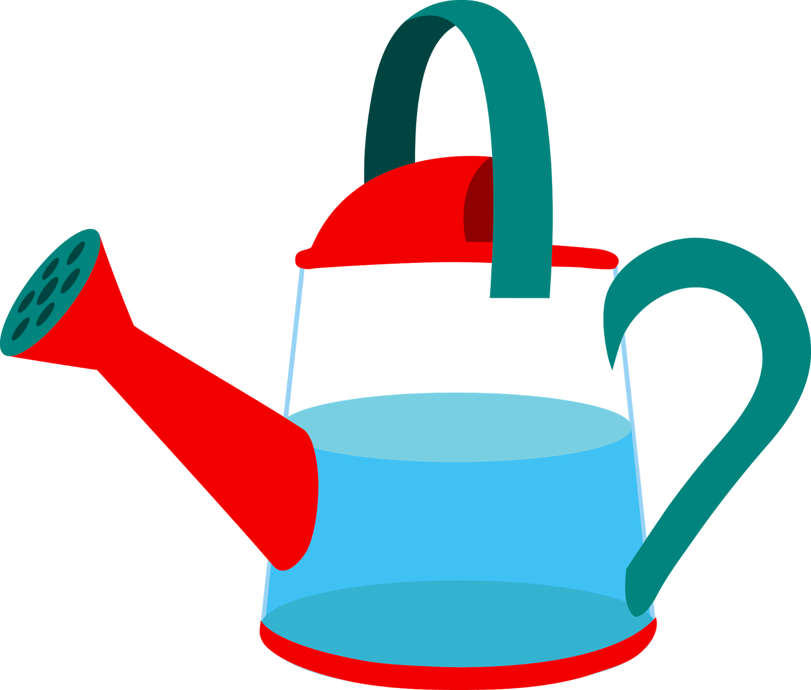 Clipart spring watering can. Forgetmenot garden cans