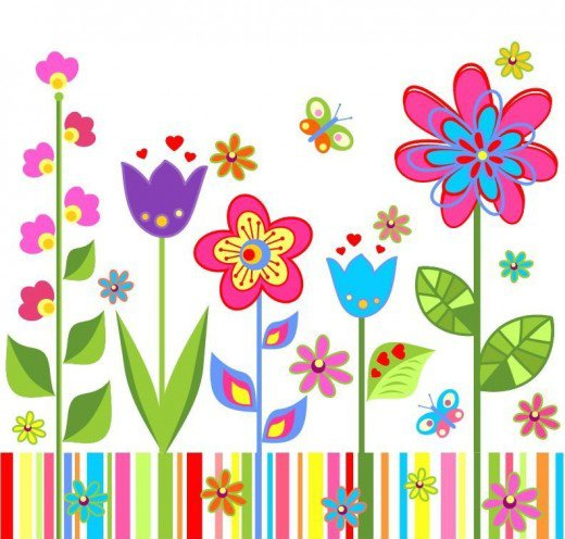 Free wildflowers cliparts download. Clipart spring wildflower