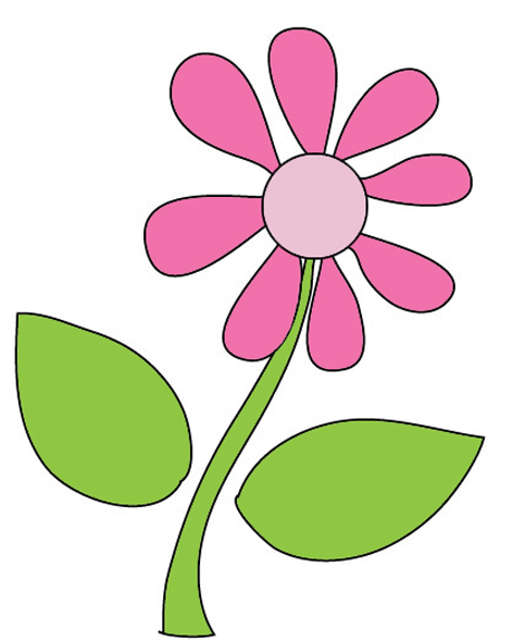 Clipart spring wildflower. Flower pictures