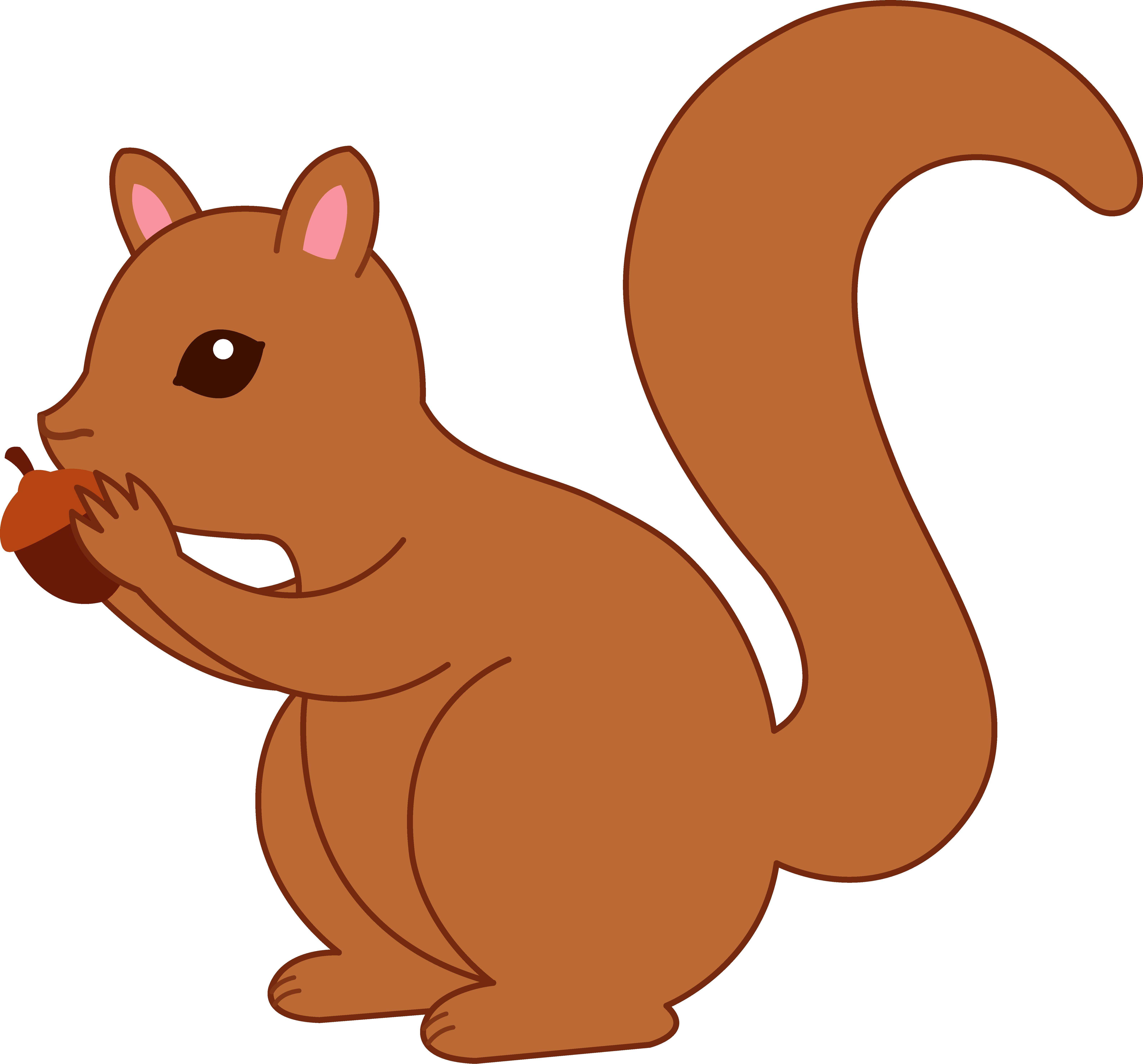 Baby squirrel panda free. Nut clipart cute