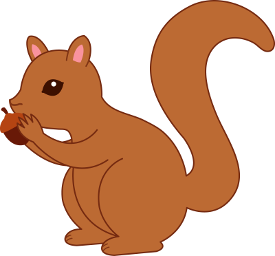 Free images clipartix . Clipart squirrel