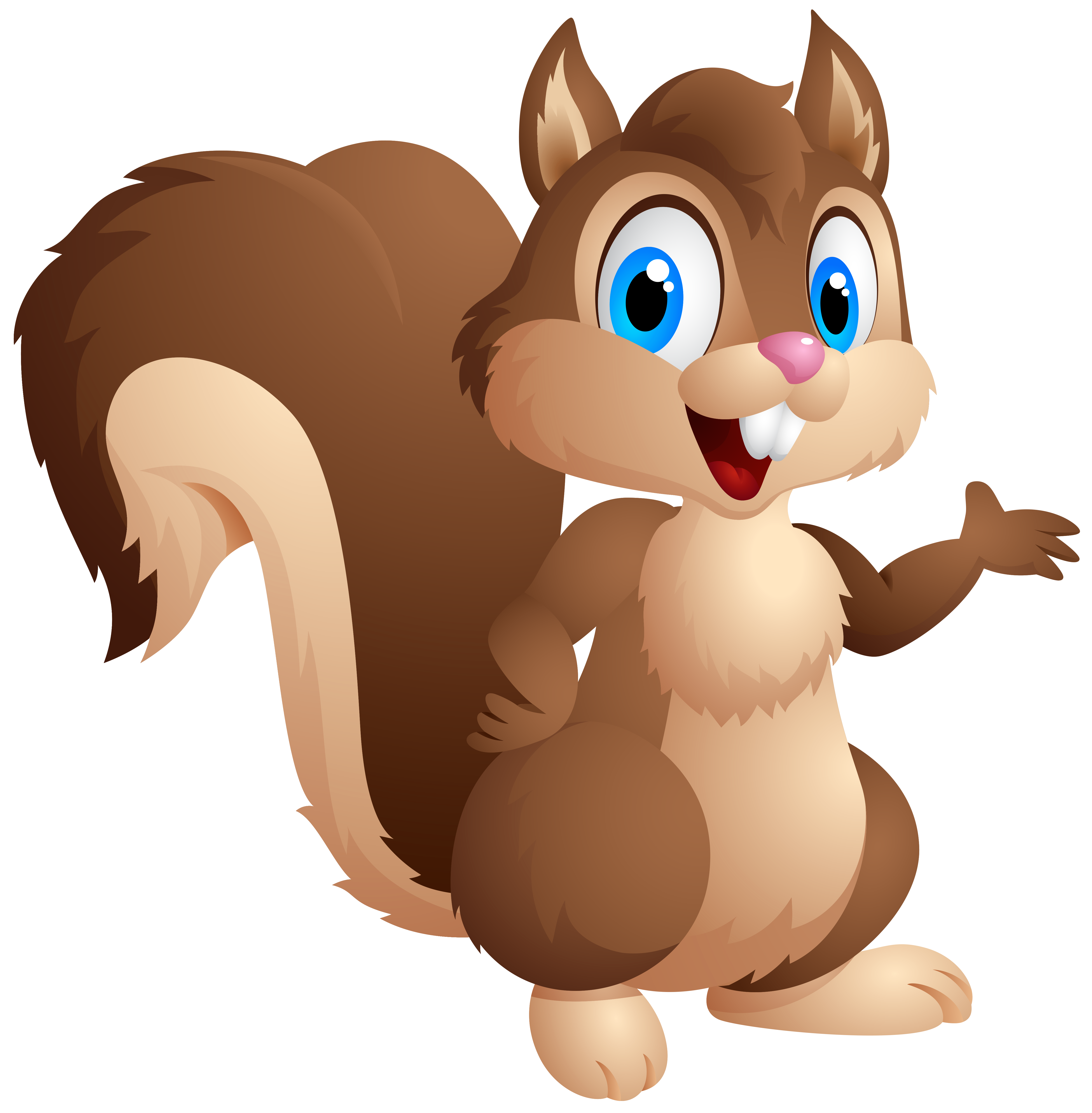 Cute squirrel png image. Flying clipart cartoon