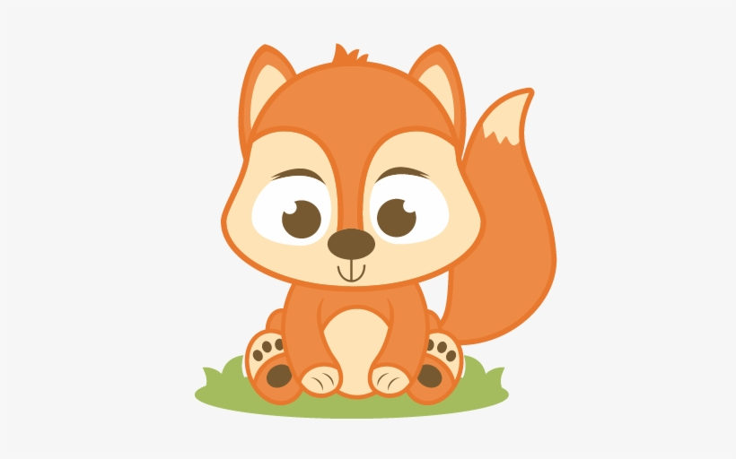 Red fox png . Clipart squirrel baby squirrel