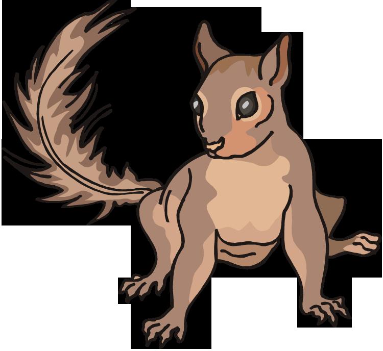 Nuts clipart head. Free squirrel clipartix