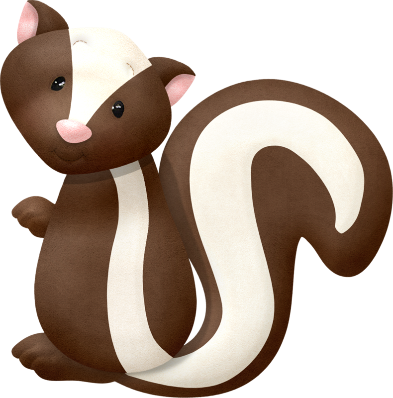 Racoon clipart skunk.  skunks squirrels racoons