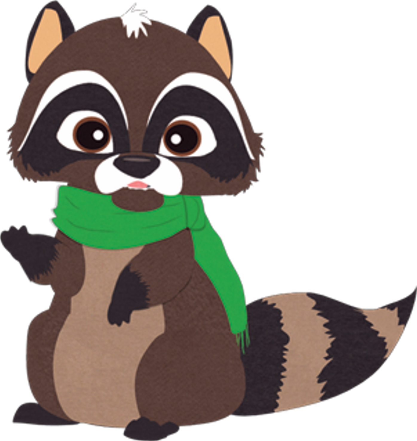 Woodland clipart raccoon. Critters south park archives