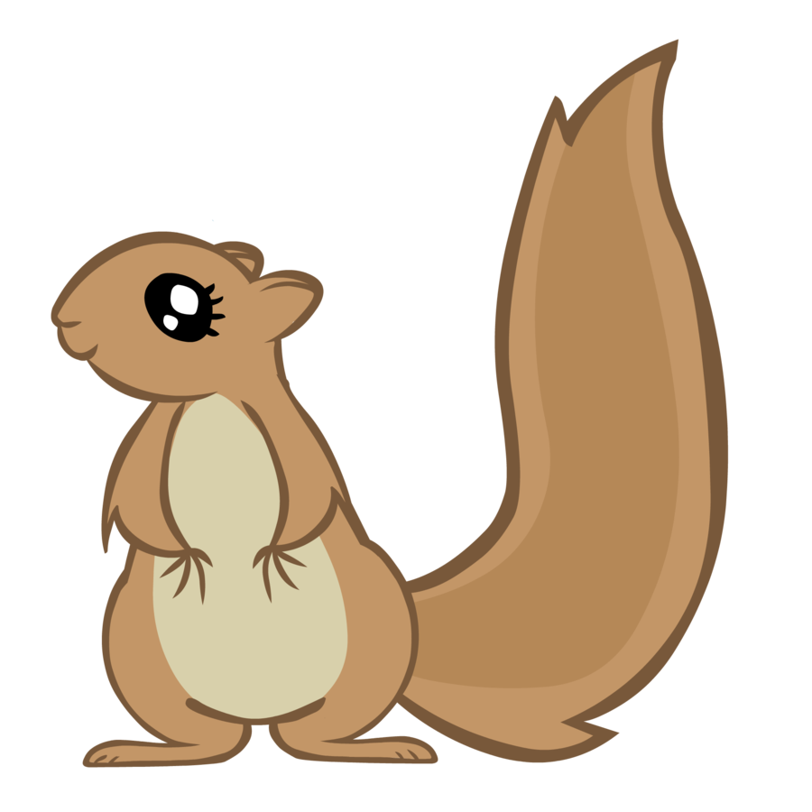 Working mlp vectorized by. Winter clipart squirrel