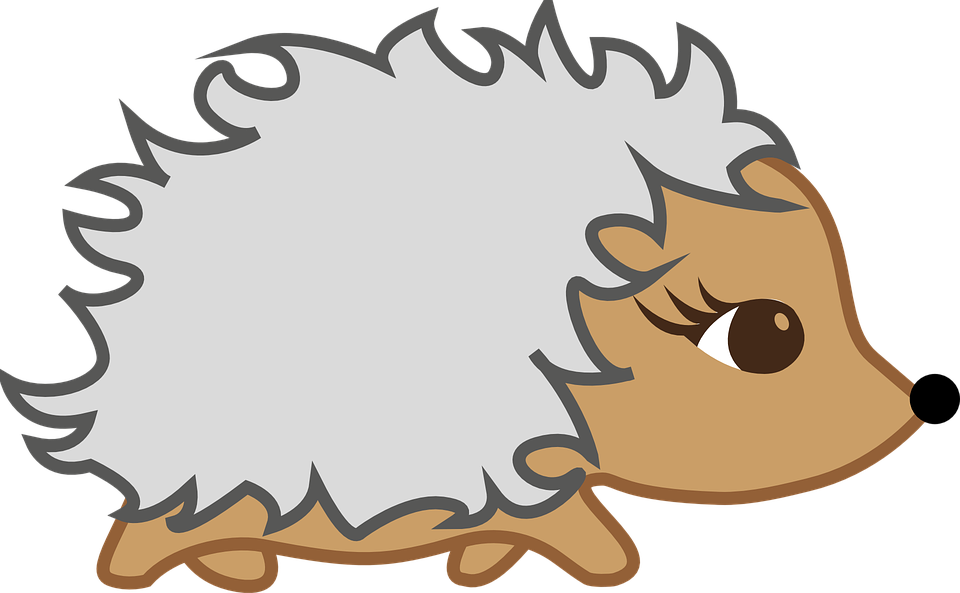 Hibernation group autumn free. Fox clipart hedgehog