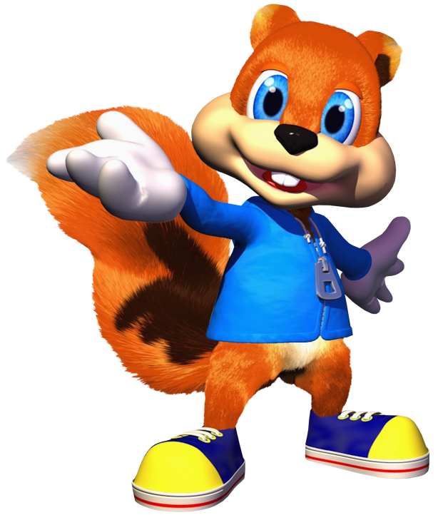Conker the wiki fandom. Moving clipart squirrel
