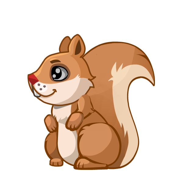 Moving clipart squirrel. Race for nuts game