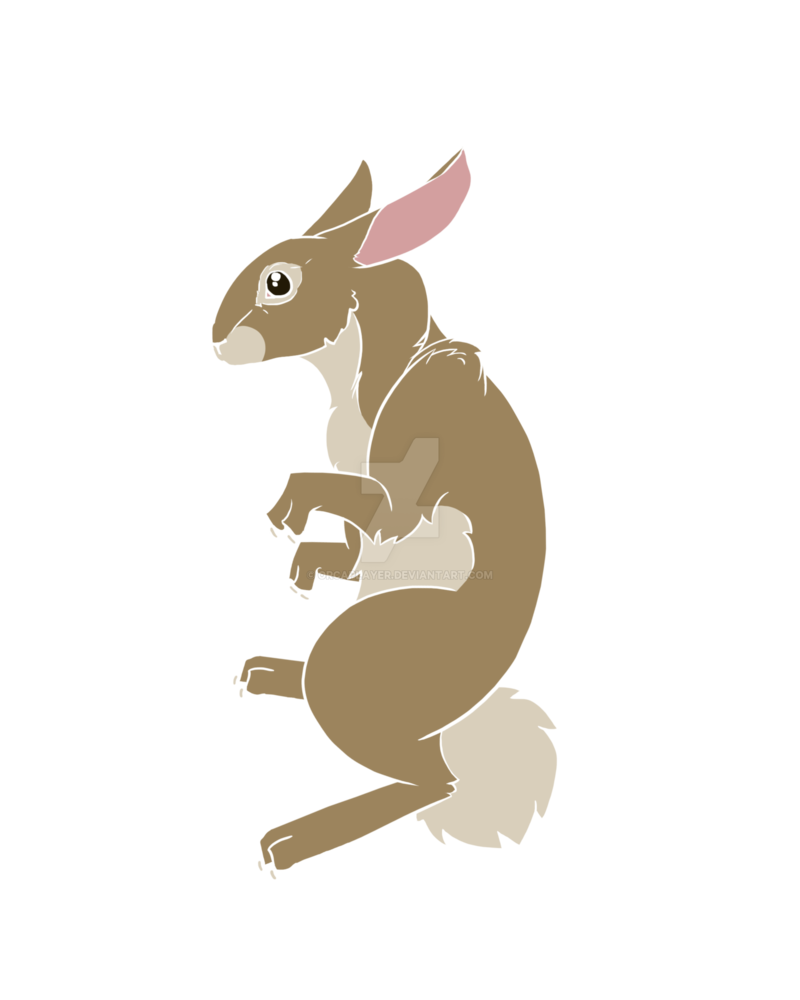 Clipart squirrel rabbit. Sprite by orcaplayer on