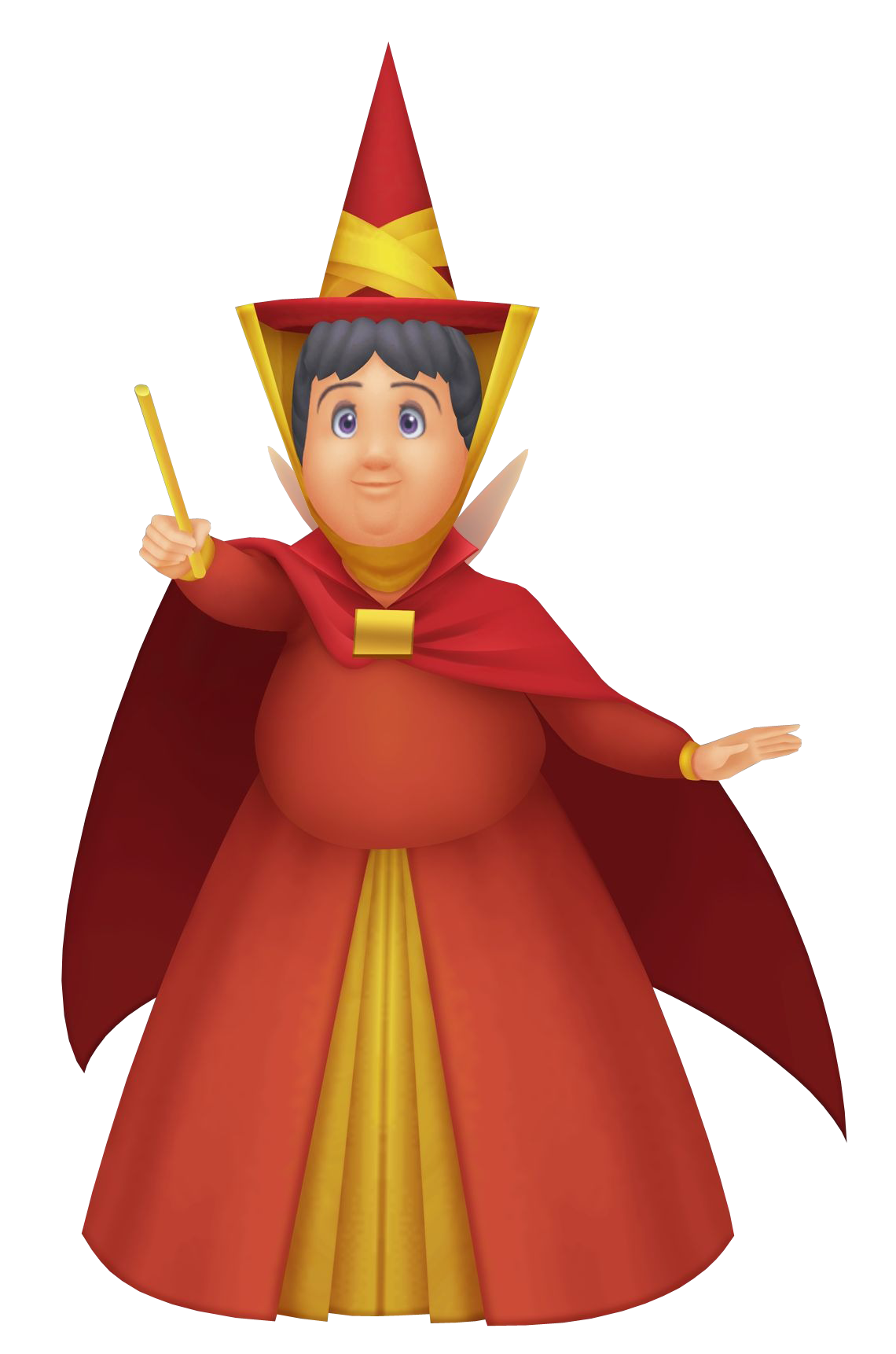 Primavera fairy godmothers pinterest. Costume clipart story character