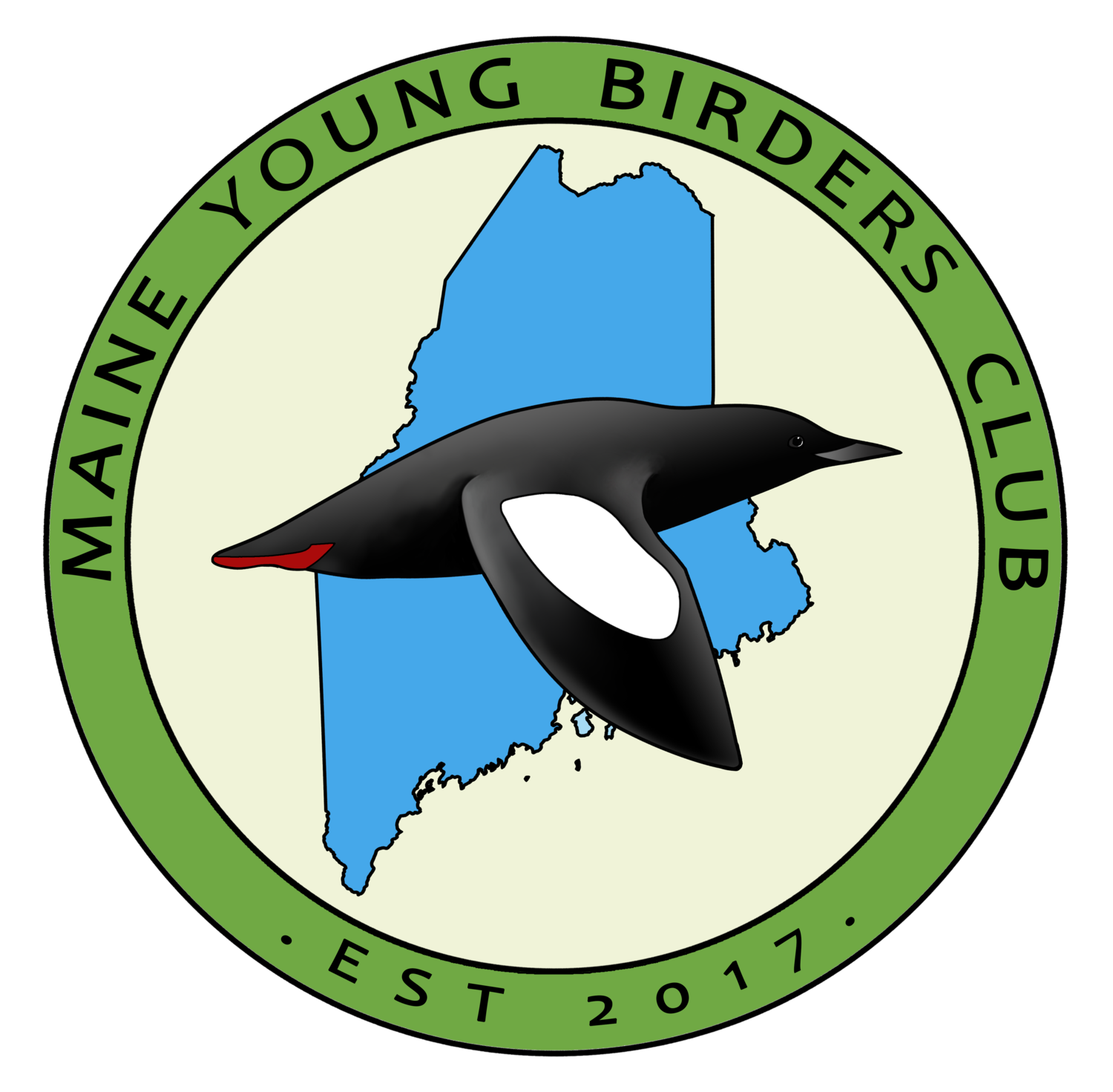 Events maine young birders. Hiking clipart distant