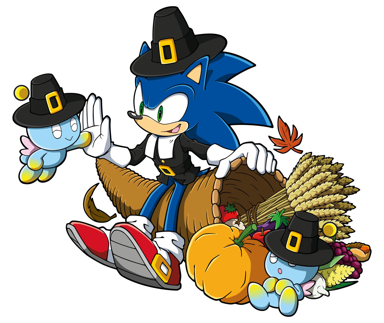 Image sonic png news. Clipart thanksgiving animated