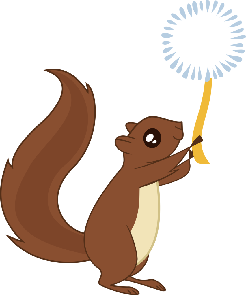 absurd res animal. Clipart squirrel winter