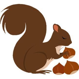 Free download clip art. Clipart squirrel winter