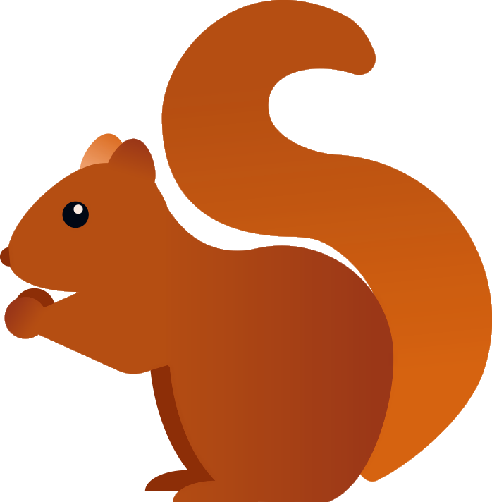 Clipart winter squirrel. Buncee fact of the