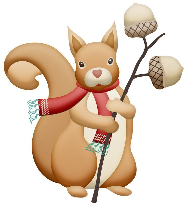 Clipart squirrel winter. Image result for printable