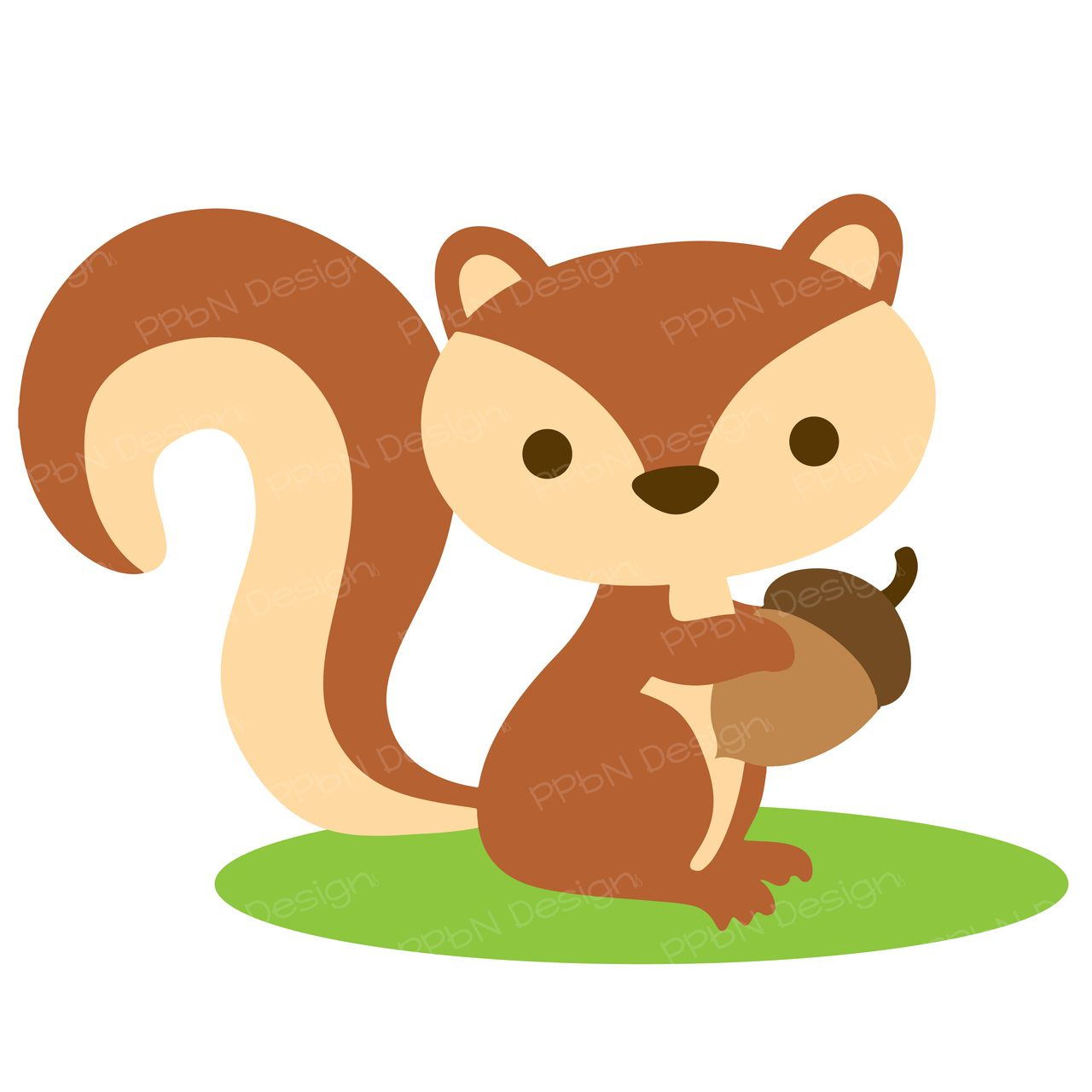 Clipart squirrel woodland. Pin by lisa denny