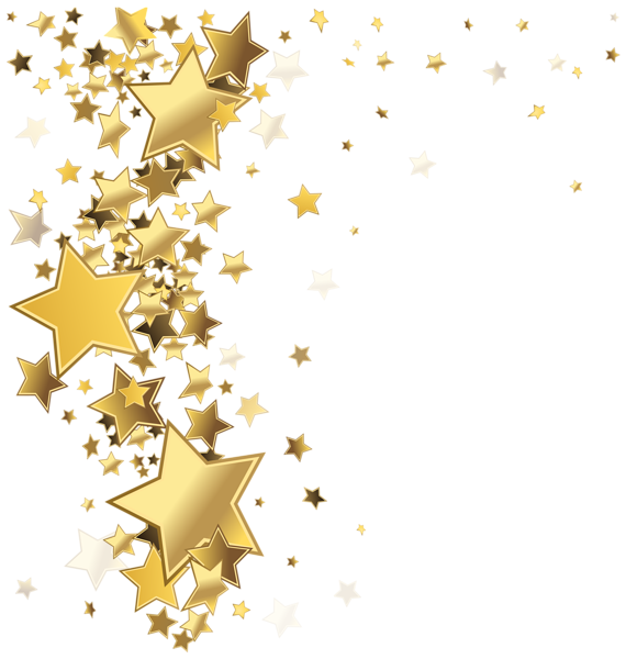 Stars decoration png clip. Clipart star accent