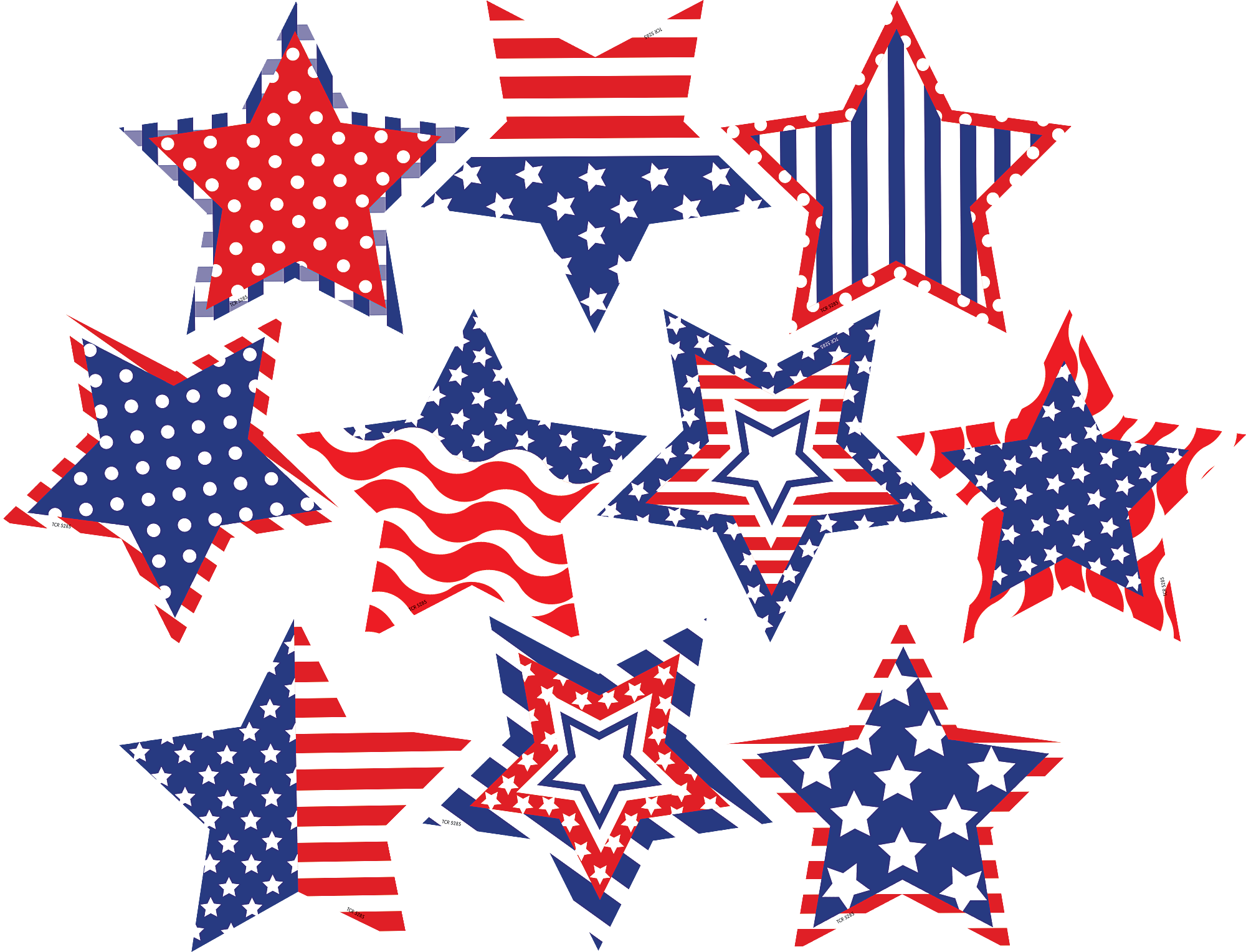 Clipart star accent. Patriotic fancy stars accents