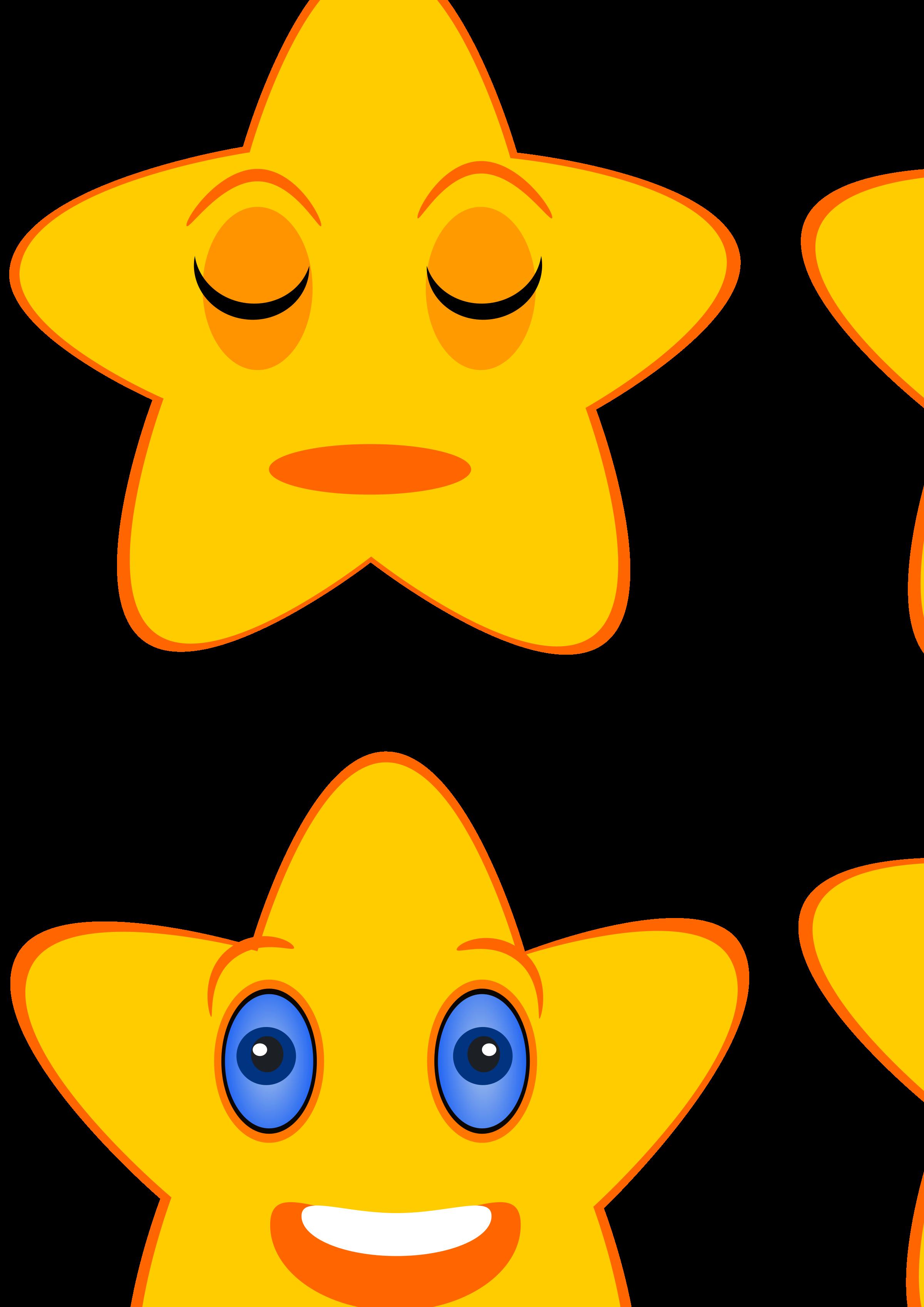 Photo clipart animated. Sleeping star big image