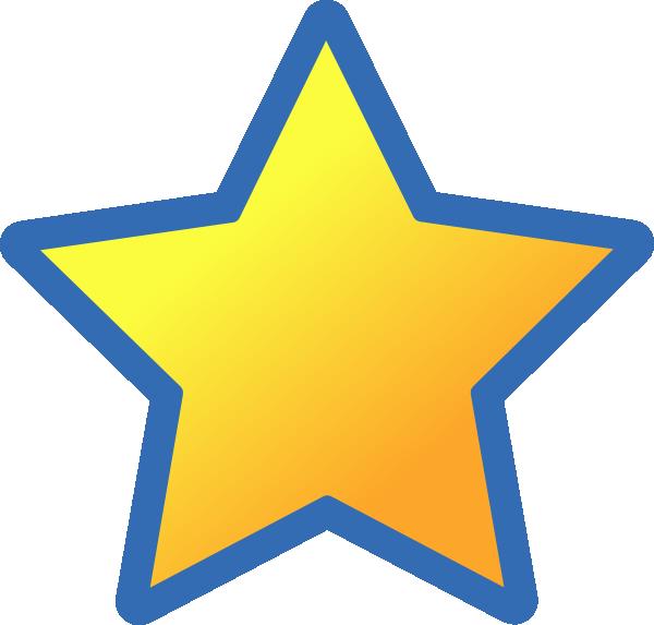 Back star clip art. Clipart stars blue