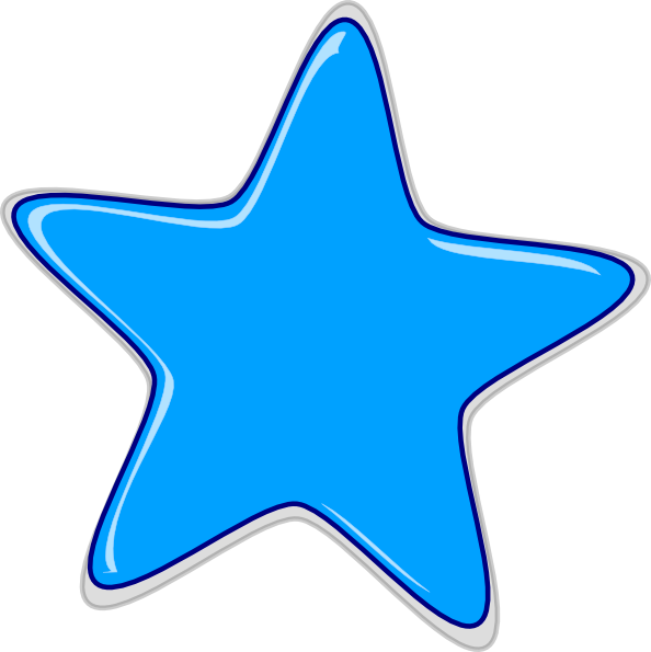 Shell clipart blue star. Free download clip art