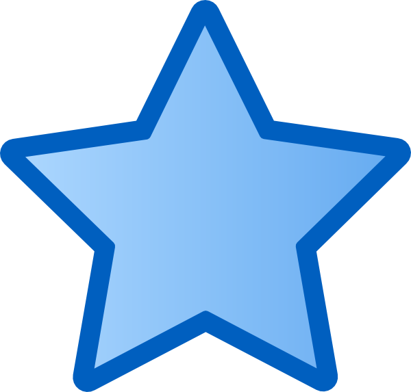 Free star download clip. Clipart stars blue