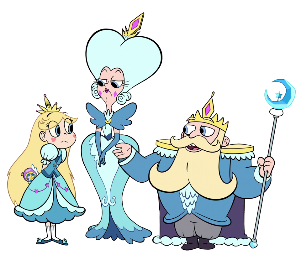 Clipart star butterfly. Vs king queen family