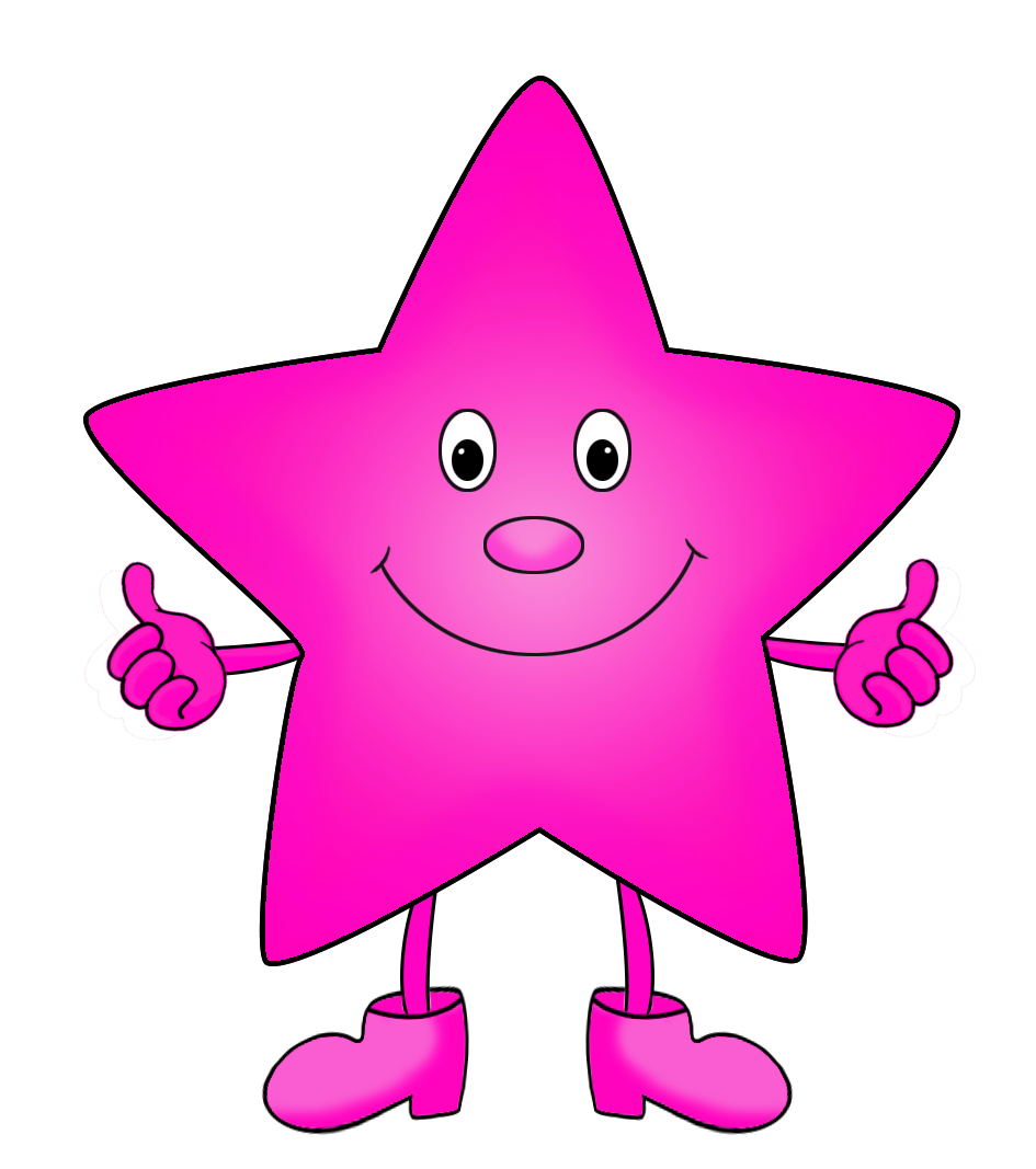 Clipart stars cartoon. Star purple clip art