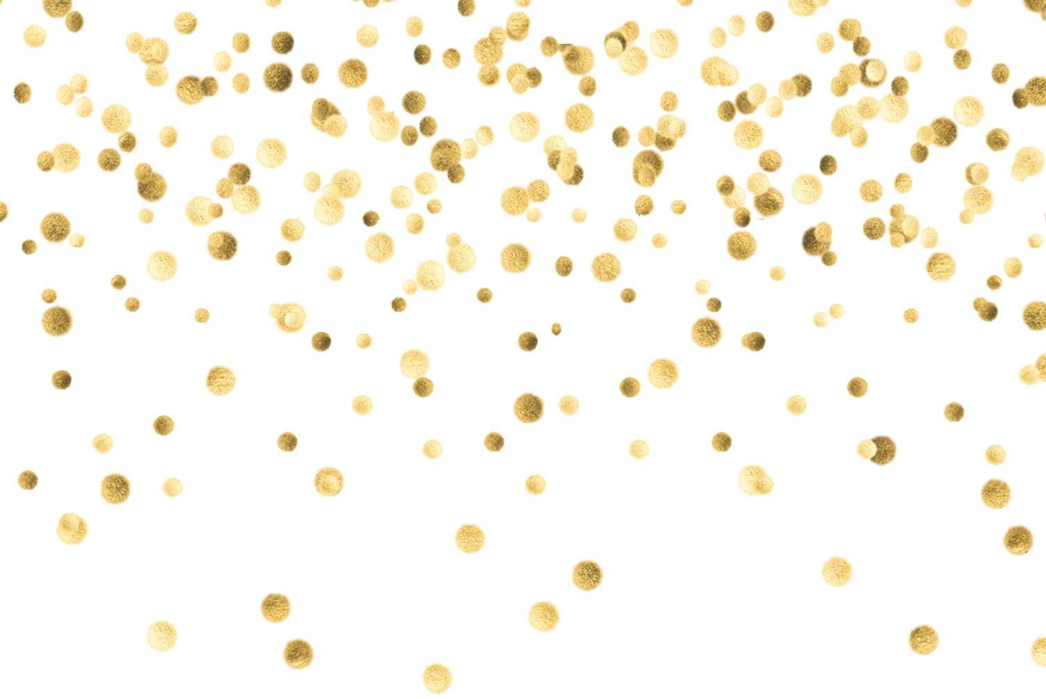 Image result for transparent. Gold confetti border png