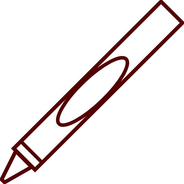 Crayon clip art at. Crayons clipart svg