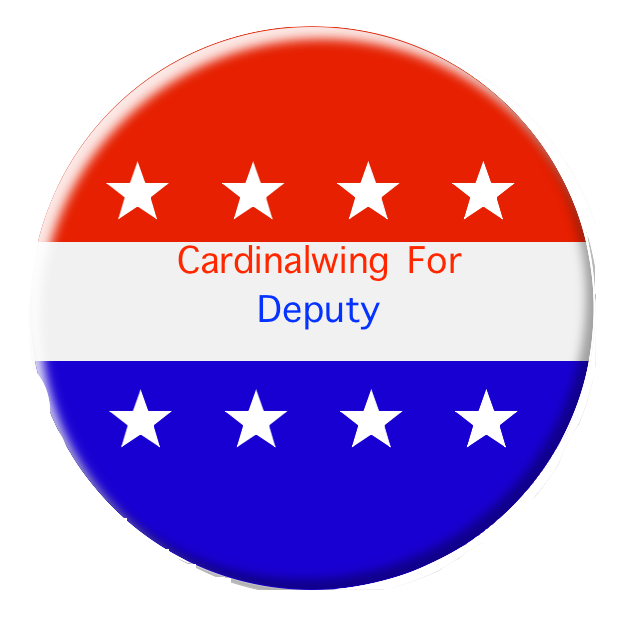 Clipart star deputy. Image vote button stars