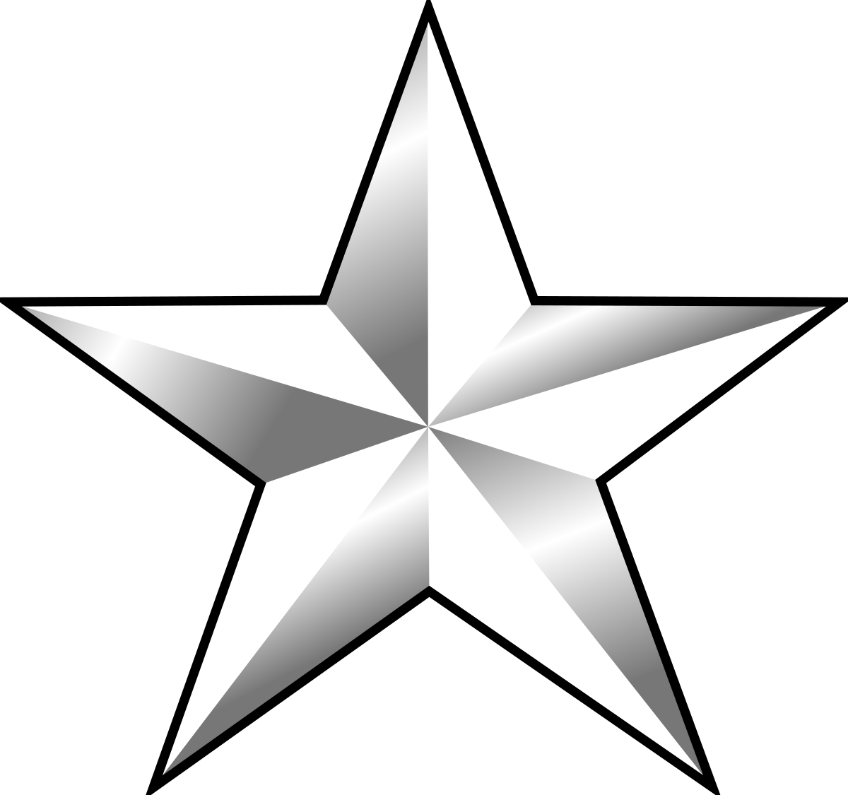 One rank wikipedia . Number 1 clipart star