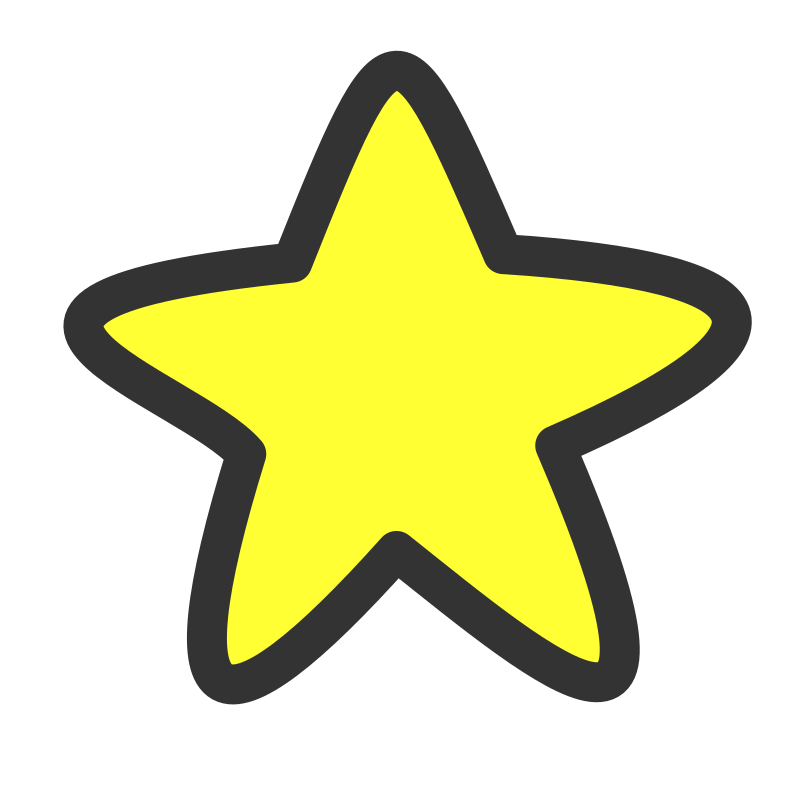 Clipart stars pdf. Free star images to
