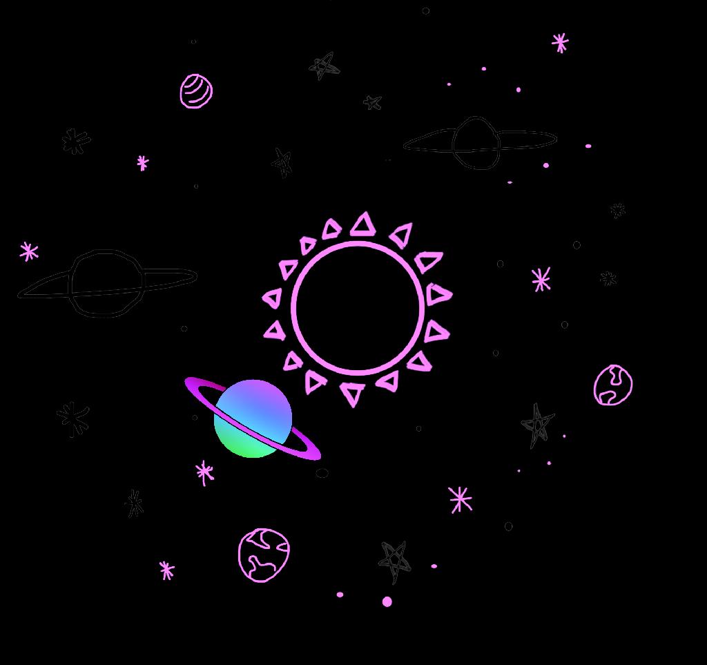 Galaxy clipart star. Stars universe tumblr planet