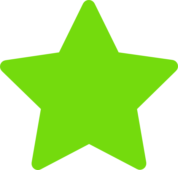 Picture clipart green. Star clip art at
