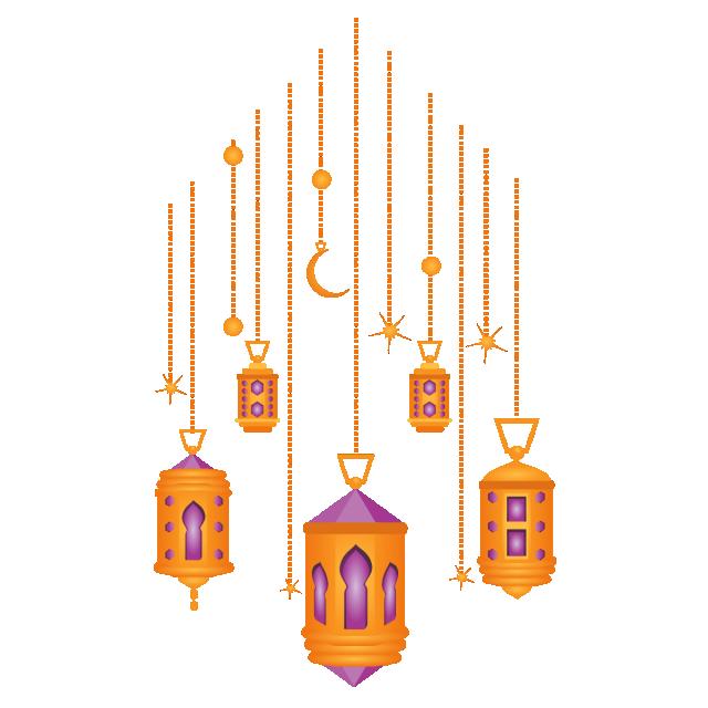 Islamic ramdan lantern ramadan. Lamp clipart pink lamp